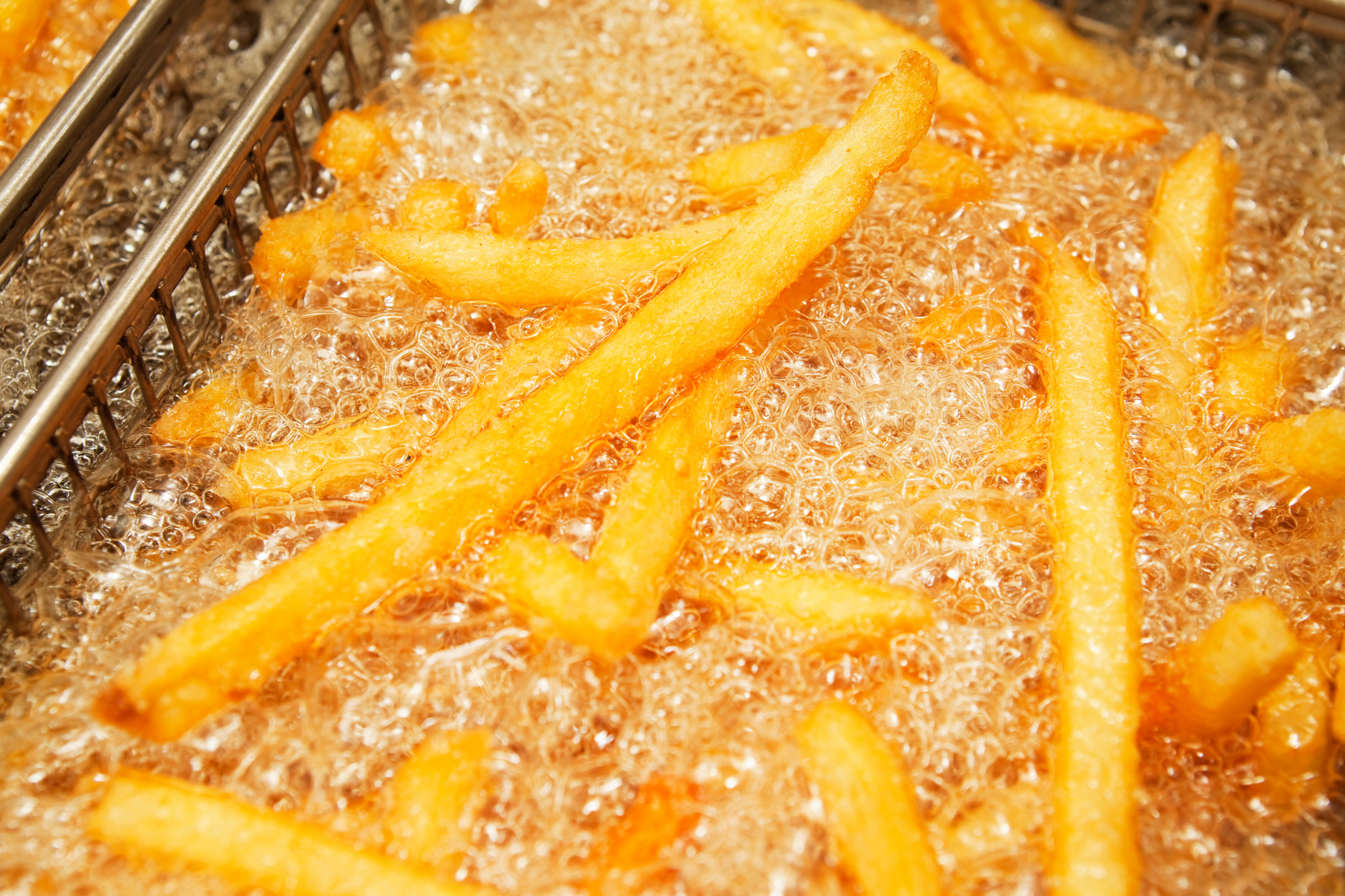 Fries In Cooking Oil